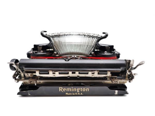 Remington Portable noire USA 1927