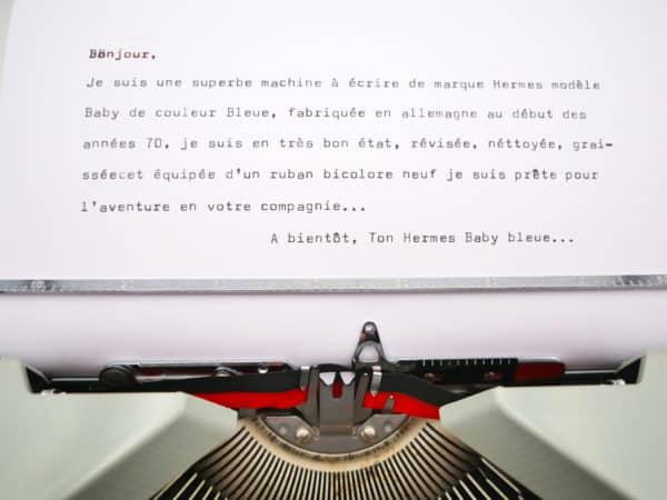 Hermes Baby Bleu Pastel révisée ruban neuf #customisée