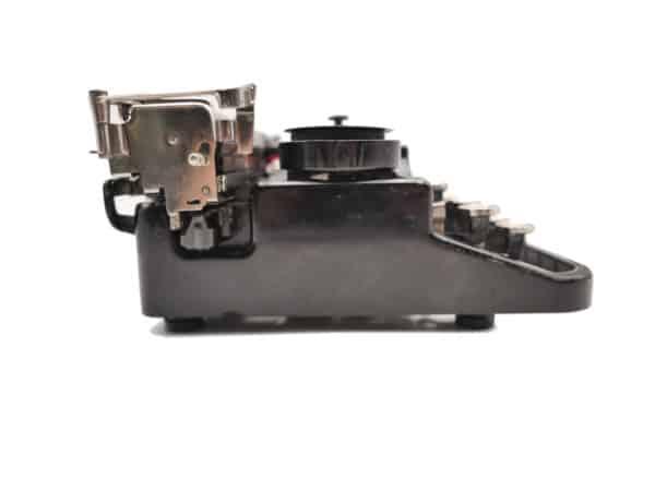 Underwood Portable 3 Bank noire révisée ruban neuf 1926 Rare