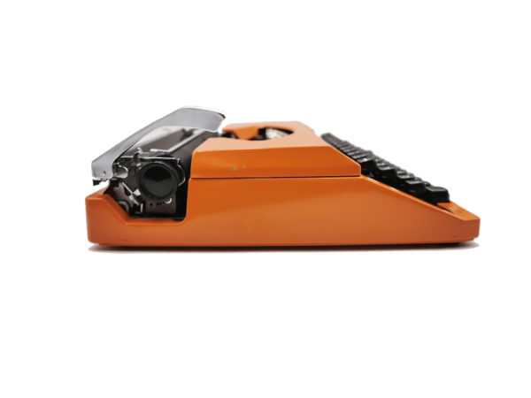 Silver Reed Silverette S Orange révisée ruban neuf