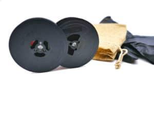 Ruban machine à écrire pour Olivetti Lettera 82 Noir