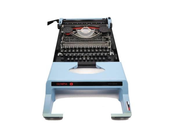 Olympia Standard Bleue vintage révisée ruban neuf