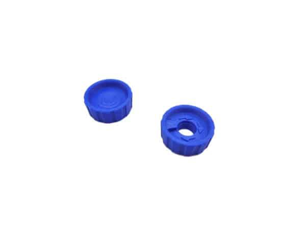 Boutons de cylindre Bleus molettes Hermes Baby